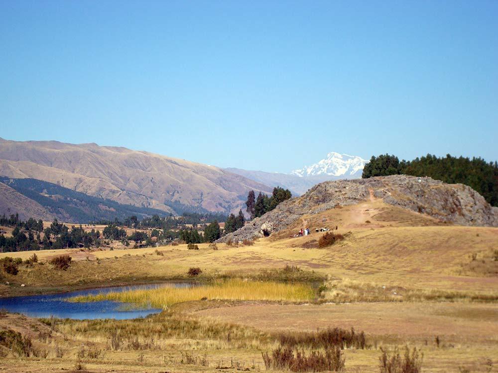 Peru 2007: Cusco - Blick auf Ausangate