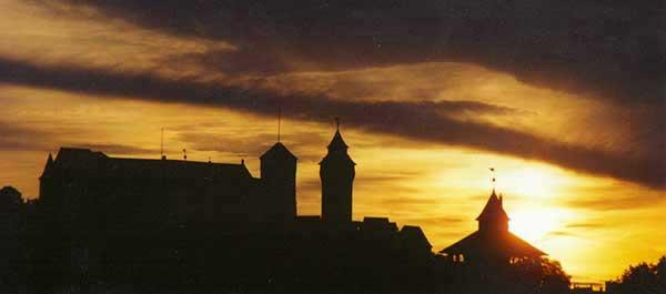 Blick auf Kaiserburg - eigene Aufnahme