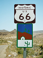 Verkehrsschild Route 66 - Quelle Wikipedia