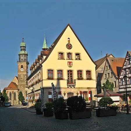 Lauf an der Pegnitz - Rathaus